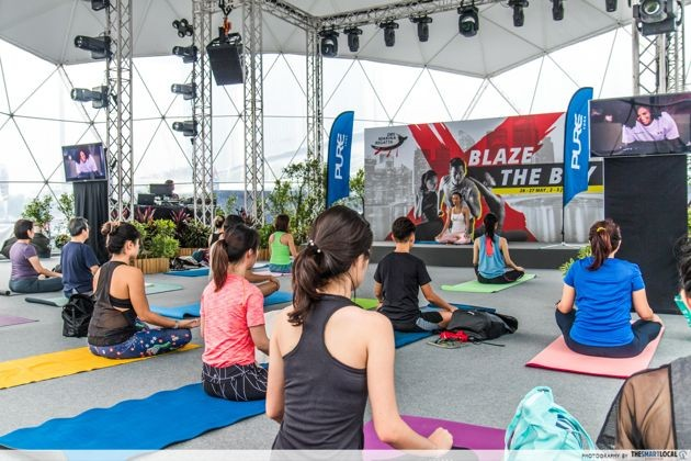 DBS Marina Regatta - Yoga classes