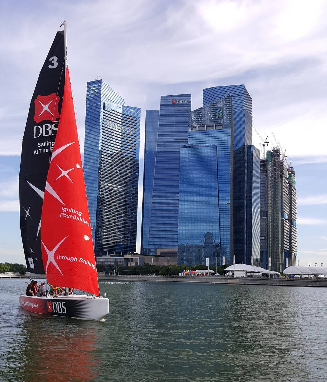 DBS Marina Regatta - sailing programme around Marina Bay
