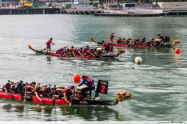 DBS Marina Regatta - dragon boat races