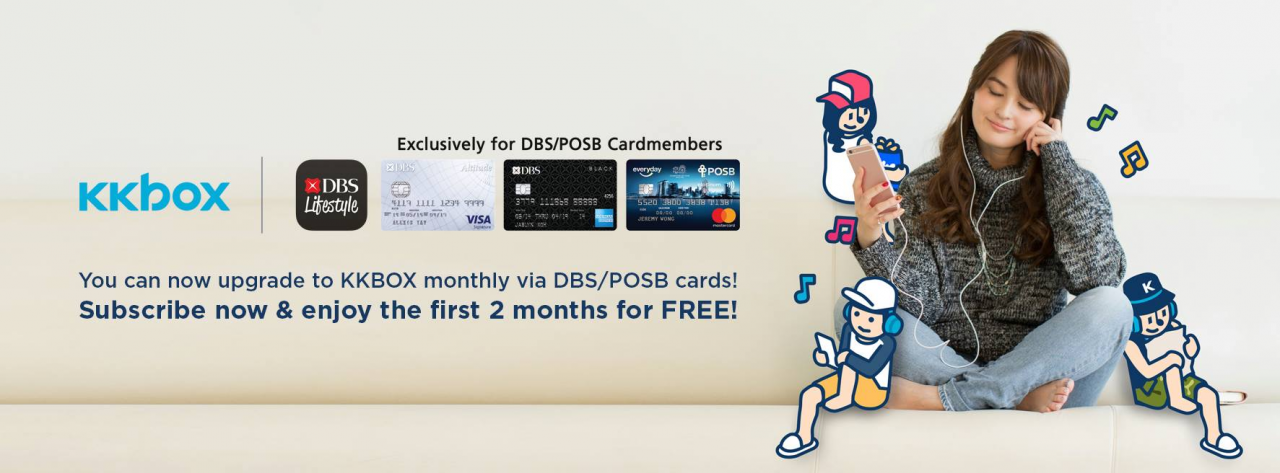 KKBOX DBS promotion
