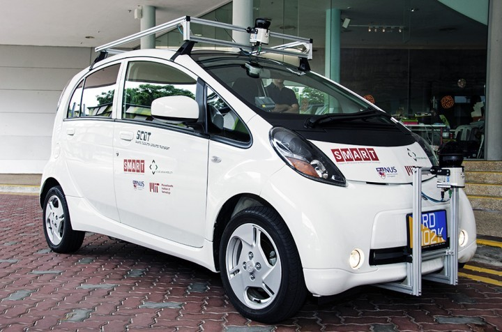 self driving car sg