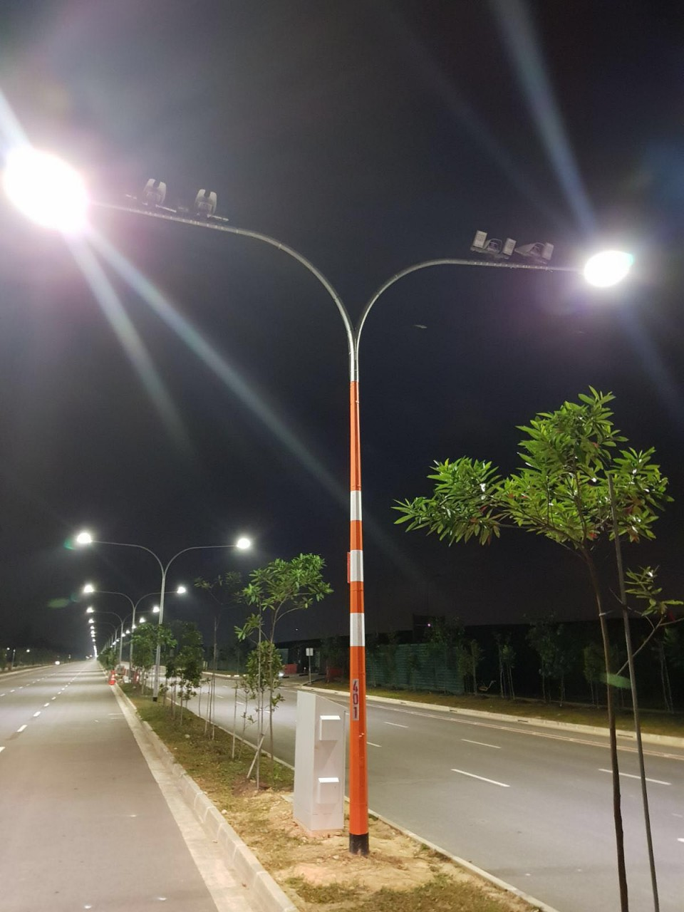 Lamp posts that gather data sg