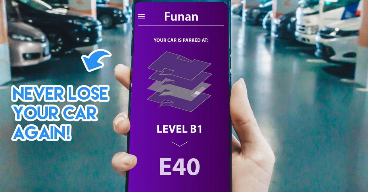 The New Funan Features Robots That Carry Your Shopping Bags And Carpark Reservations