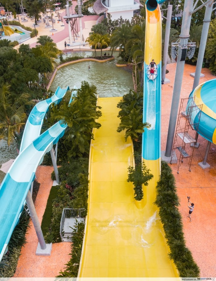 Water Park - Yellow Wall