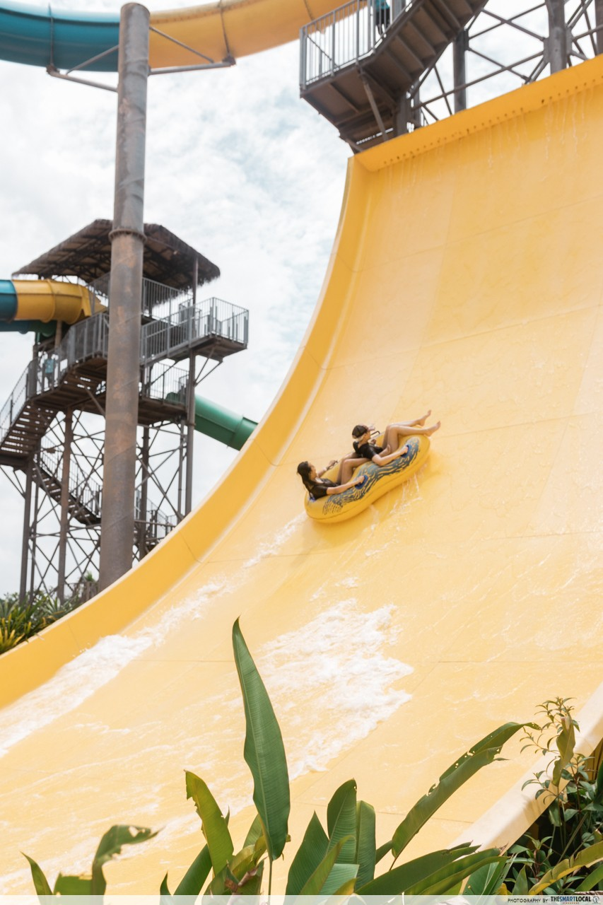 Water Park - Yellow Wall section