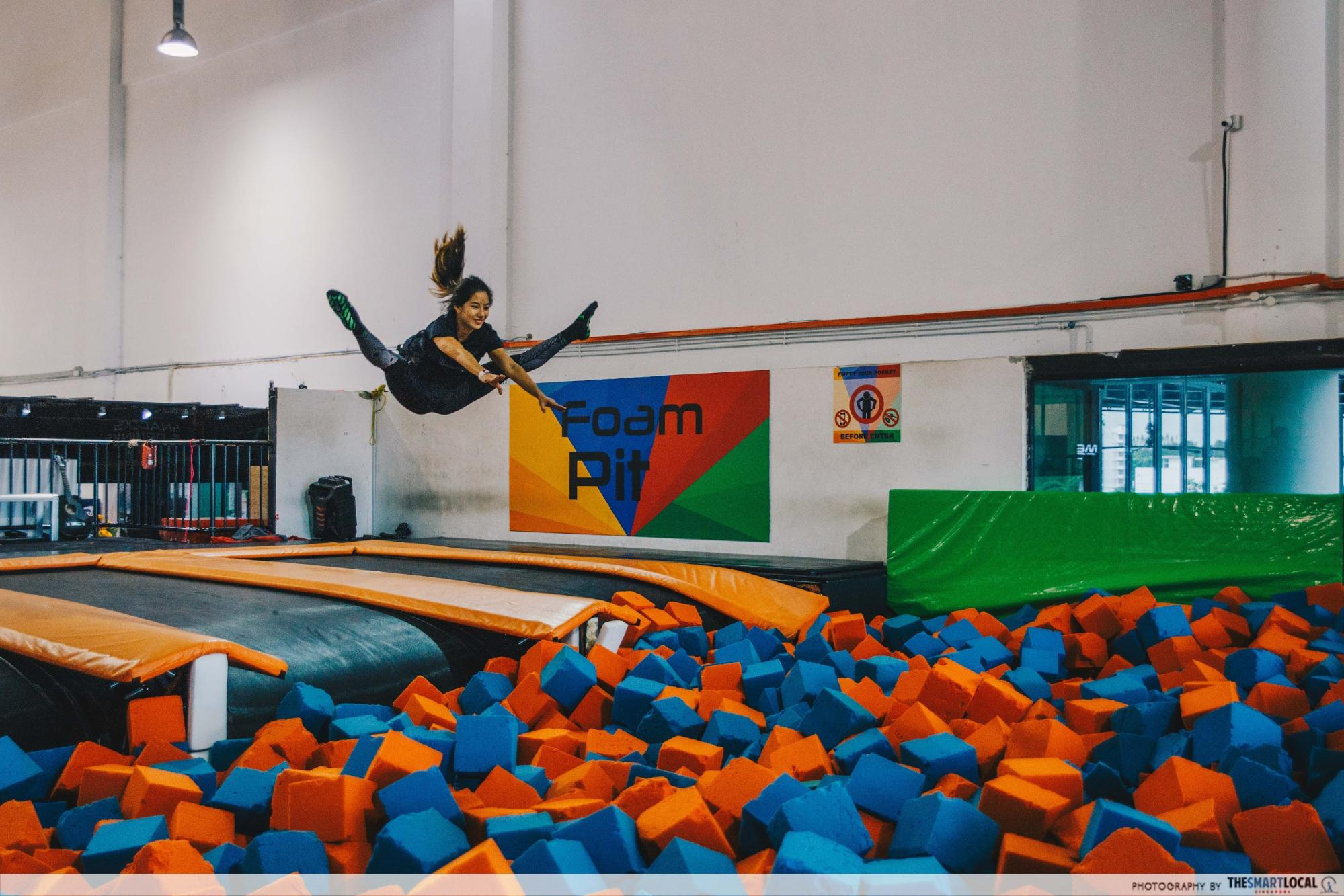 Sports and Leisure Park - Jump Street Foam Pit