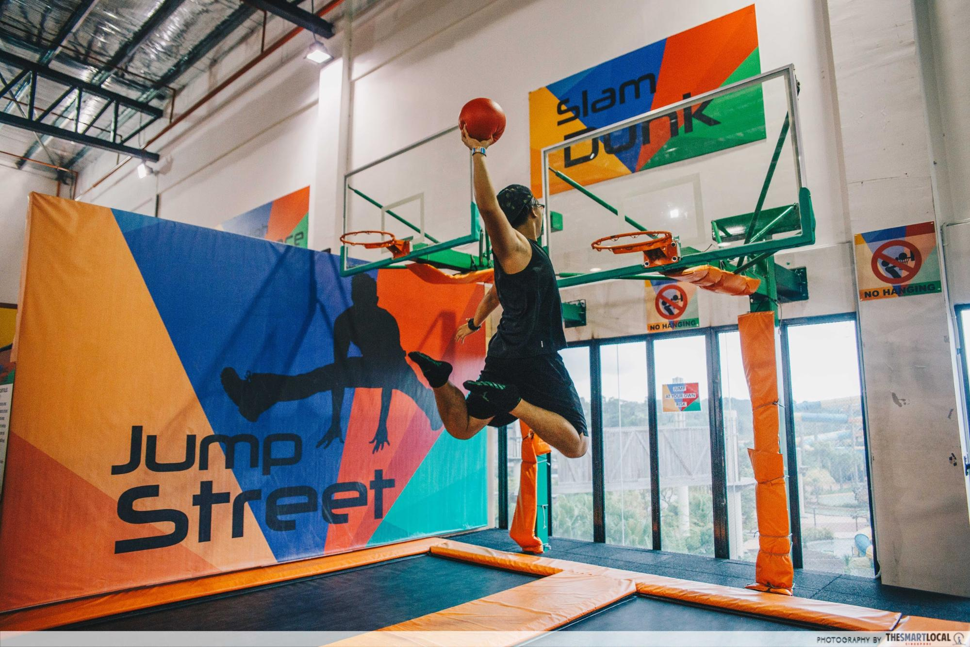 Sports and Leisure Park - Jump Street Slam Dunk