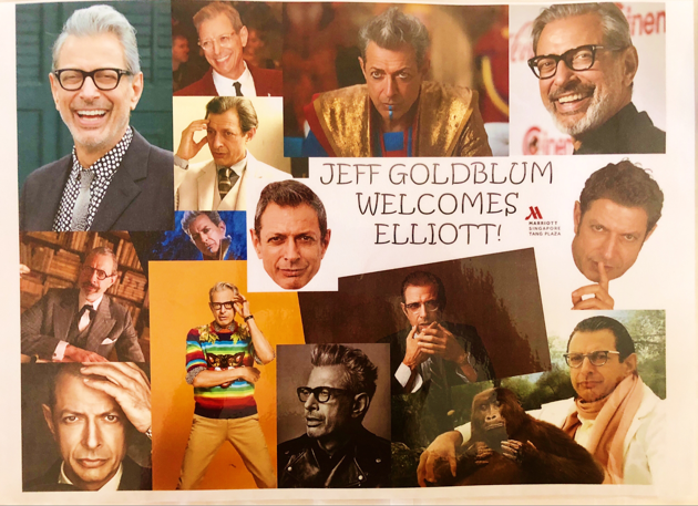 STB Business of Happiness - Jeff Goldblum at Marriott Hotel