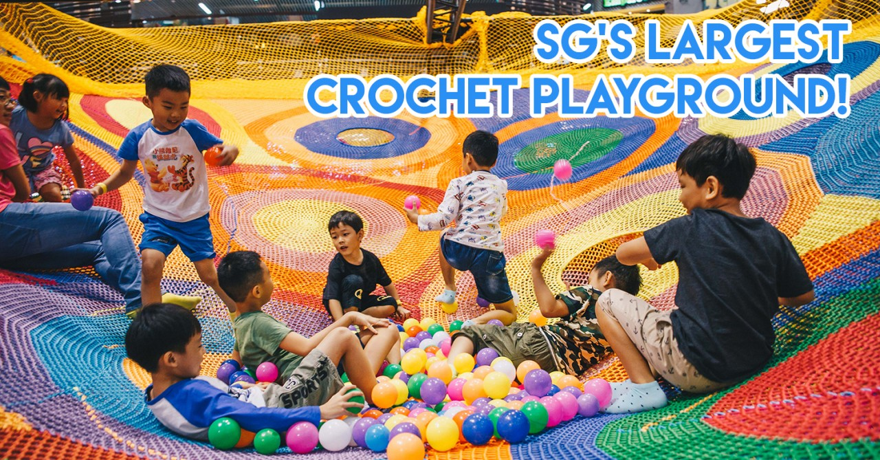 Causeway Point's Atrium Transforms Into A Giant Playground This June