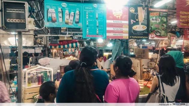Bazar Raya UTARA food