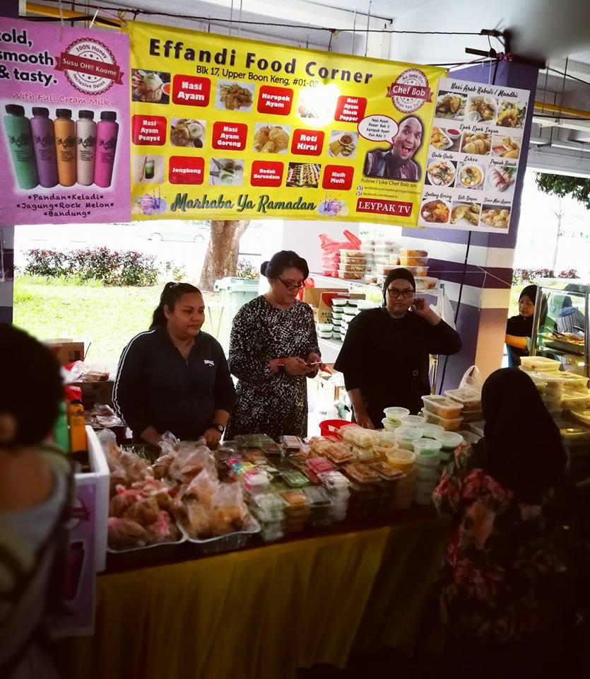 Pasir Ris Blk 105 Ramadan Bazaar food