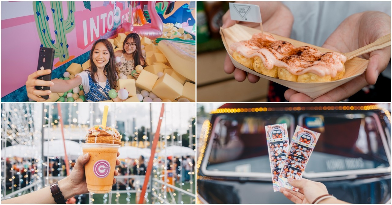 Artbox Singapore 2018 Is Back With New Food Vendors, Foam Pits & Vintage Cars