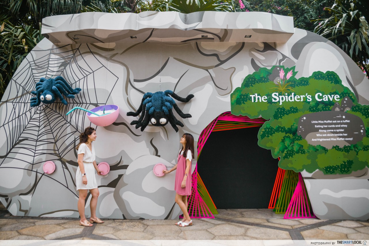 Gardens by the Bay - The Spiders Cave at Children's Festival