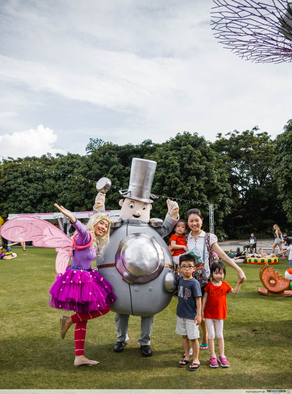Gardens by the Bay - Children's Festival - Moon-Face and Saucepan Man