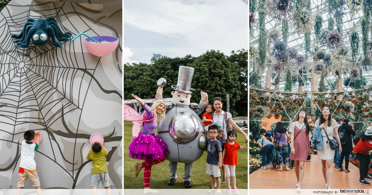 Gardens By The Bay Has A Children's Festival & Begonia Garden Trail For Families To Spend Their June Holidays