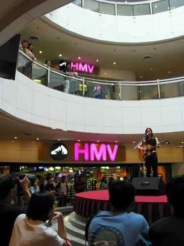 HMV at heeren singapore