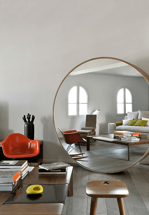 Bosch - 1 big round mirror
