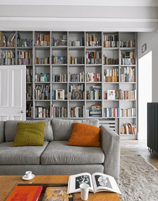 Bosch - long bookcases