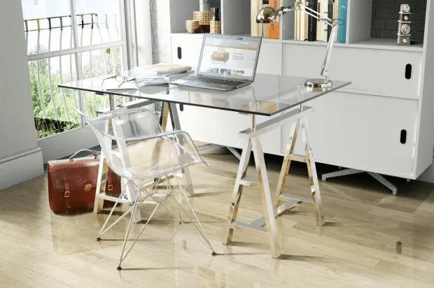 Bosch - transparent tables and chairs