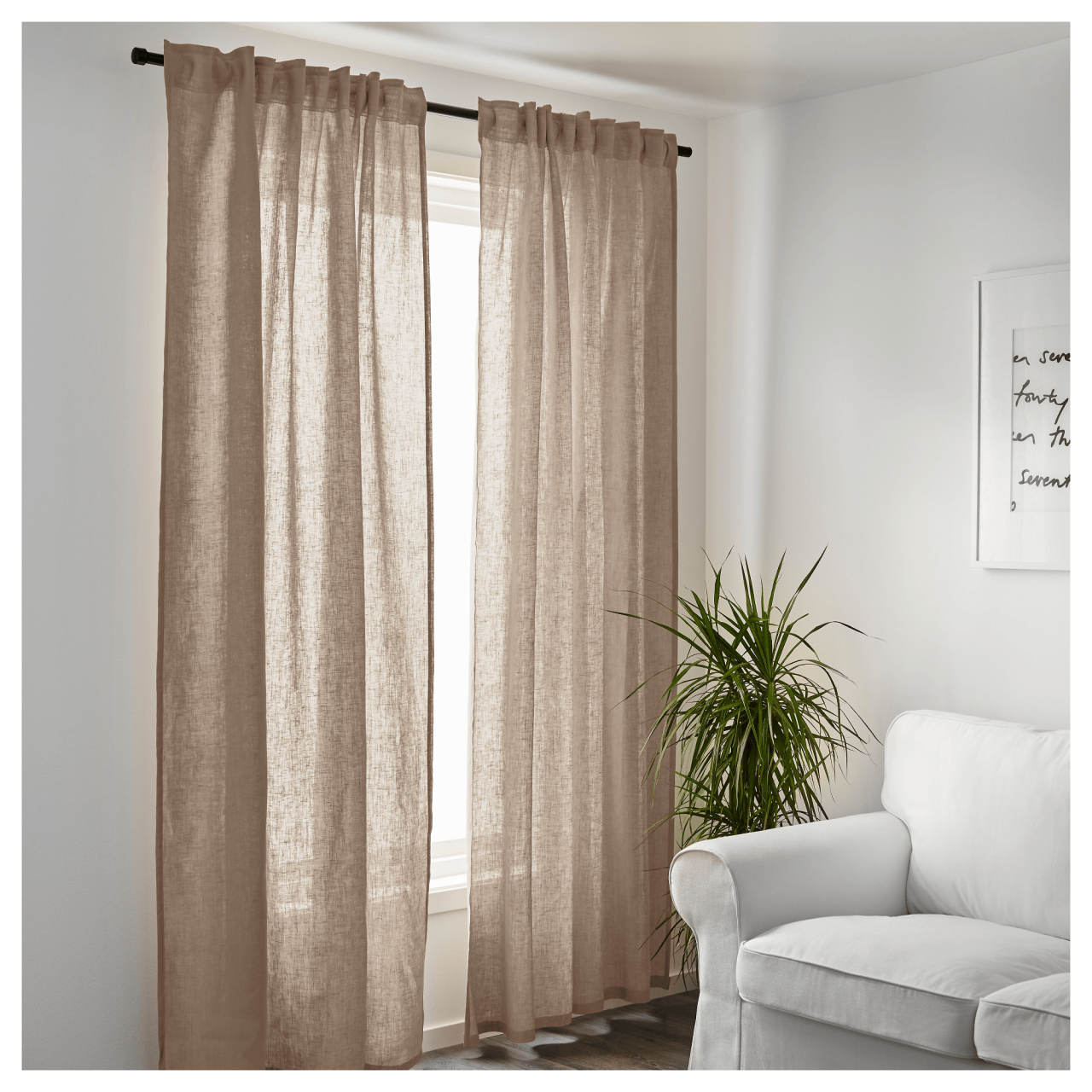 Bosch - sheer curtains
