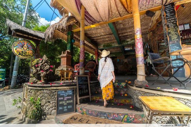 Bali - Bali Bohemia entrance
