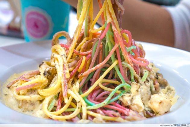 Bali - colourful spaghetti