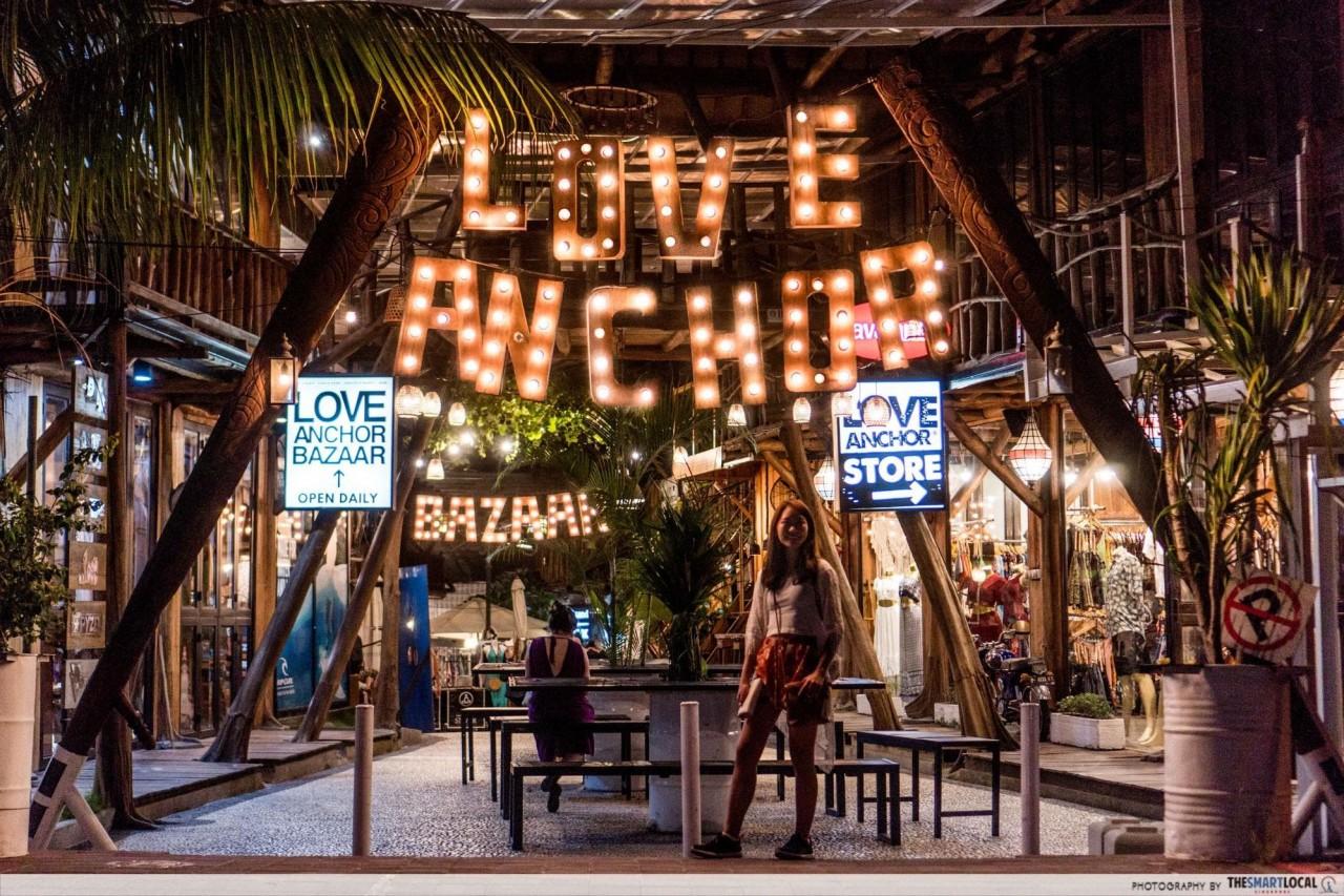 Bali - Love Anchor market
