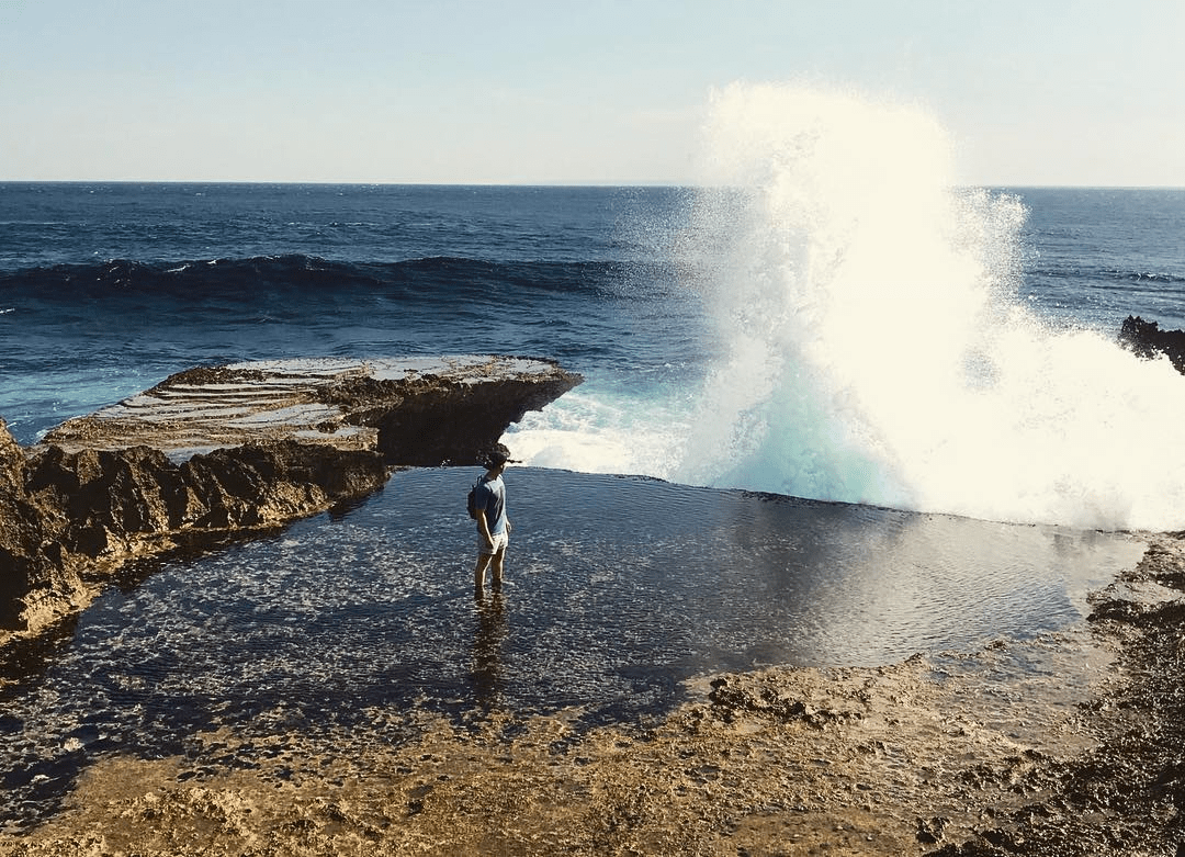 Bali - blowhole