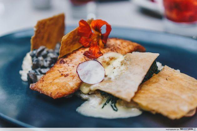 Bali - salmon coulibiac