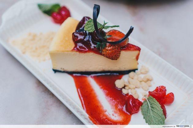 Bali - gardin cheesecake