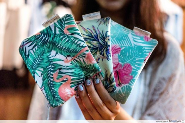 Bali - tropical pouches