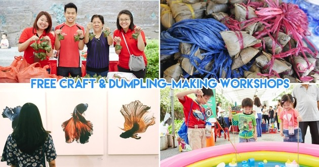 Wan Qing Dumpling Festival 2018 Has A Treasure Hunt For Kids, Kite Painting And Photography Classes