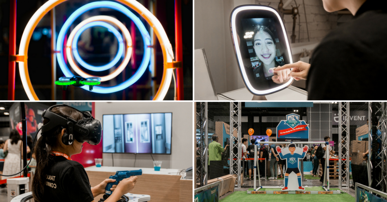 Tech Saturday Has Smart Mirrors And Anti-Stress Machines For Everyday Life In The Digital Age