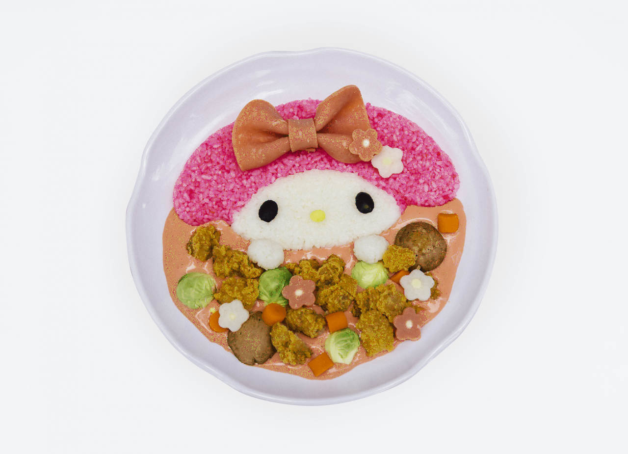 my melody cafe singapore princess bunny japanese curry rice