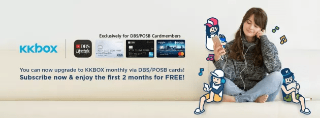 KKBox subscription - DBS POSB card members