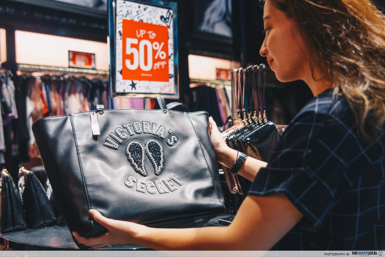 Victoria's Secret sale - bags and totes