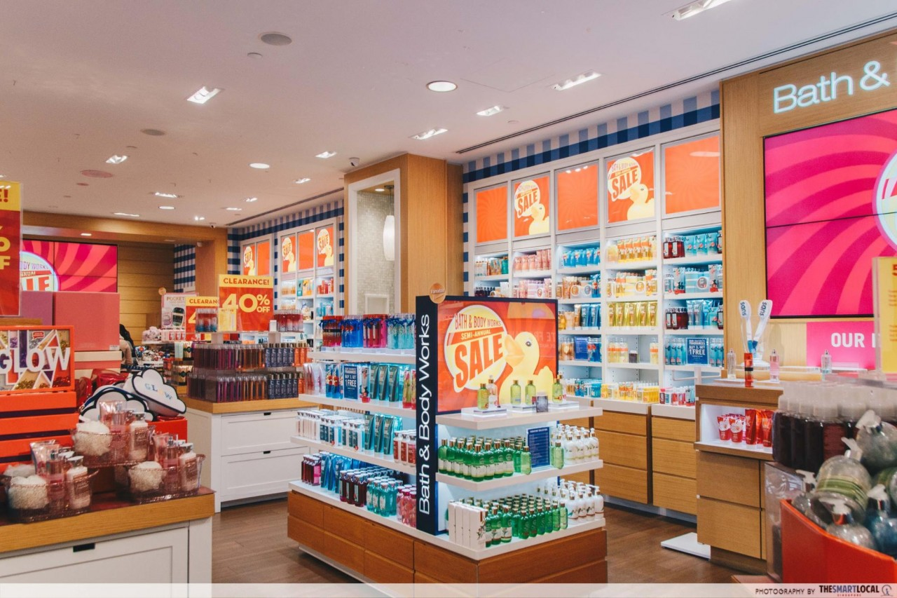 Bath & Body Works sale in Singapore