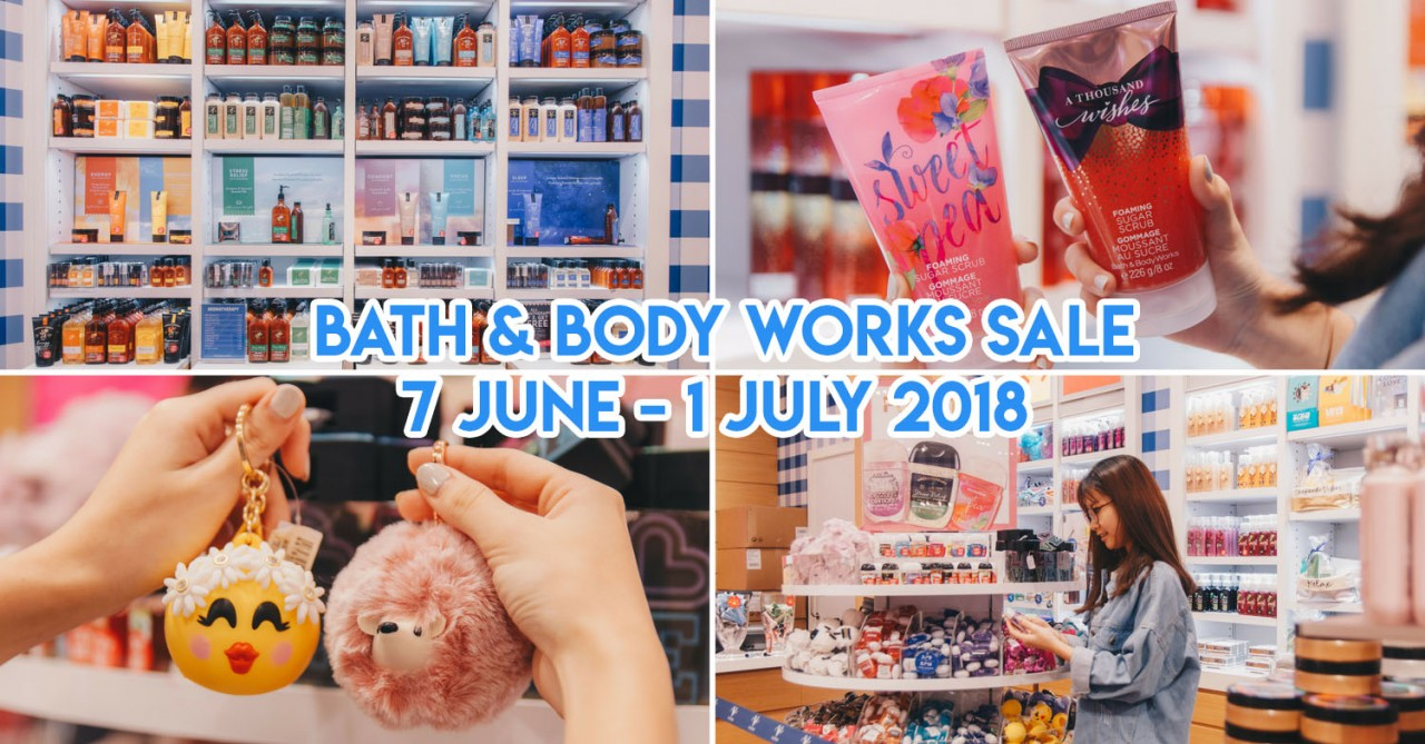 Bath & Body Works - Up To 70% Off Including Candles, Body Scrubs & Hand Soaps