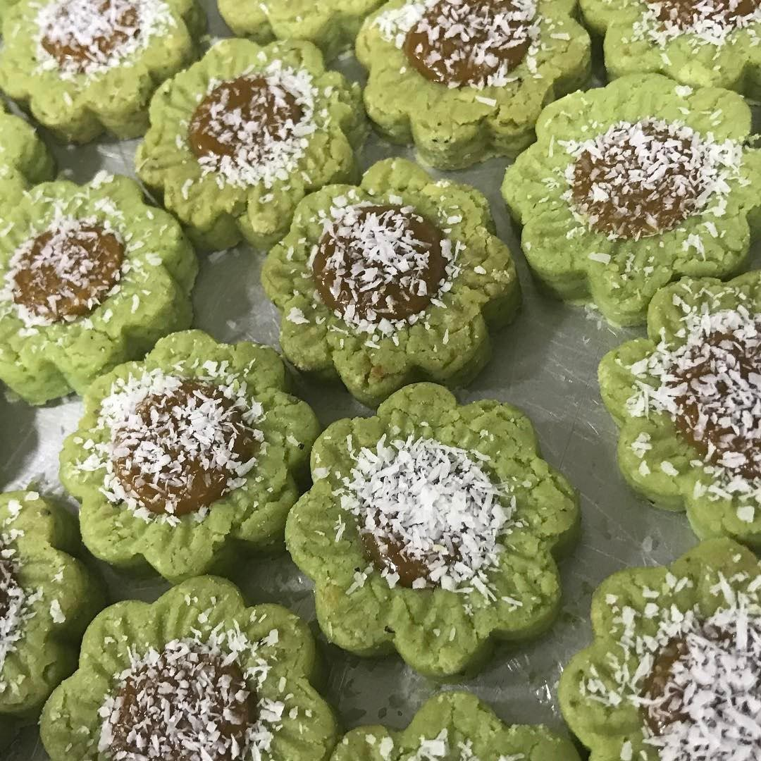 Hari Raya Kuih - Ondeh-ondeh tart