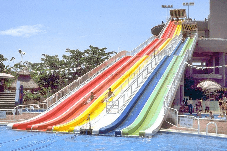 Big Splash - 5 lane slide