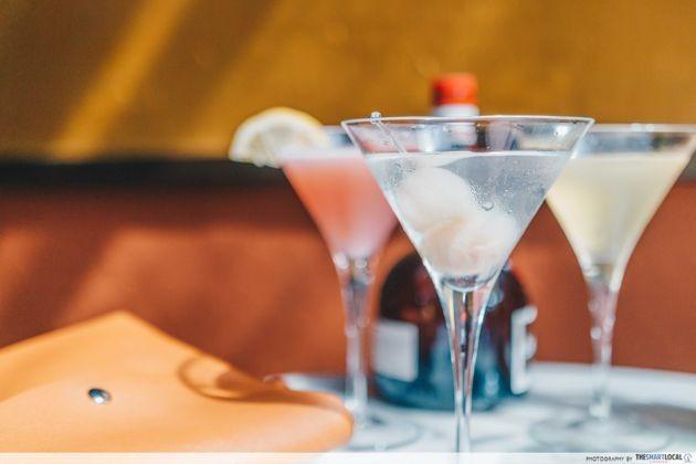 No. 5 Emerald Hill - lychee martini