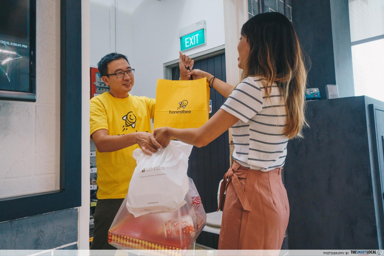 honestbee delivery