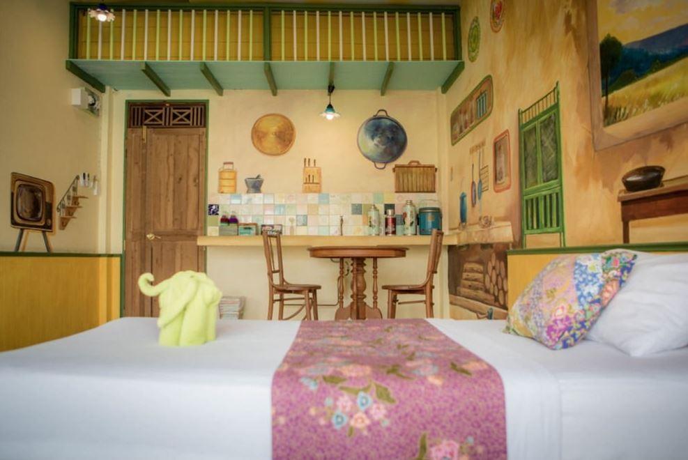 Phranakorn-Nornlen Hotel - room
