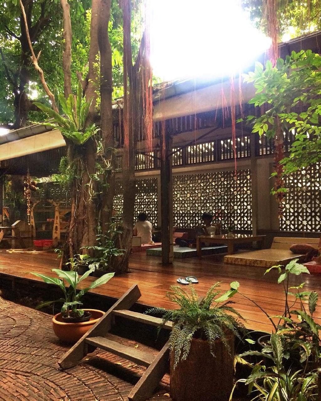 Phranakorn-Nornlen Hotel - lounge area