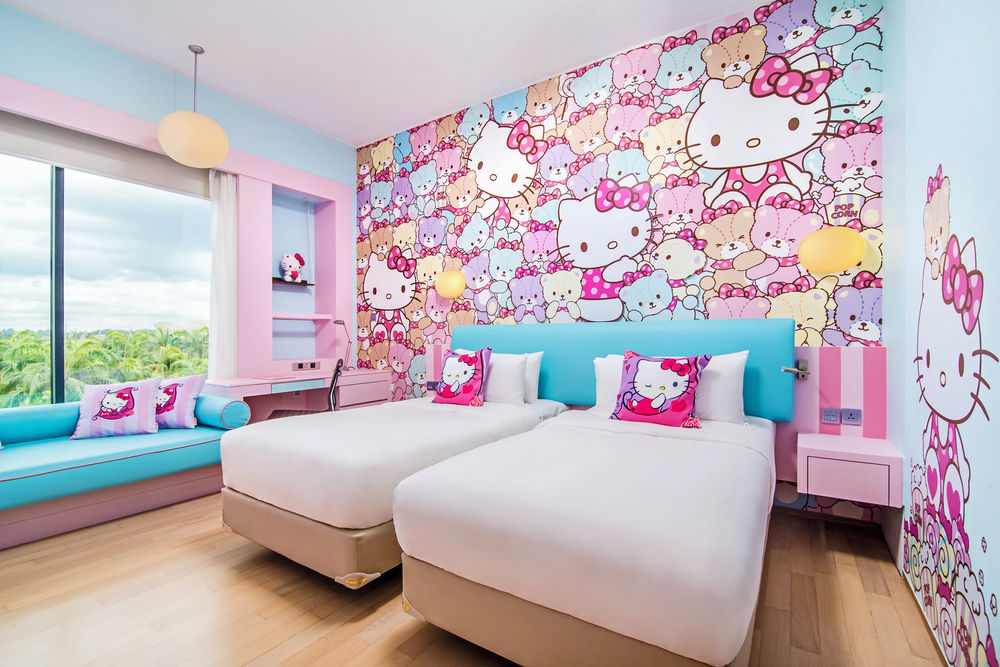 7 Hello Kitty-Themed Hotel Rooms In Asia From $31/Night Perfect For Sanrio Lovers