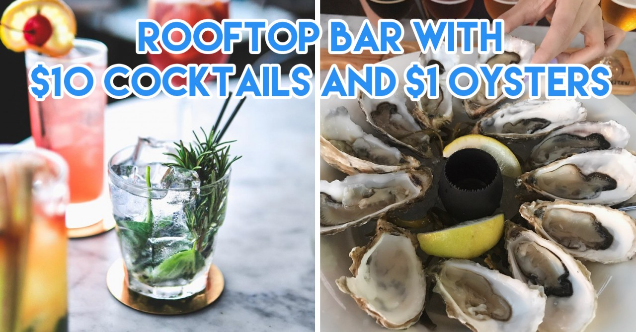 10 Affordable Happy Hour Cocktails Under $12 At Bars In Singapore