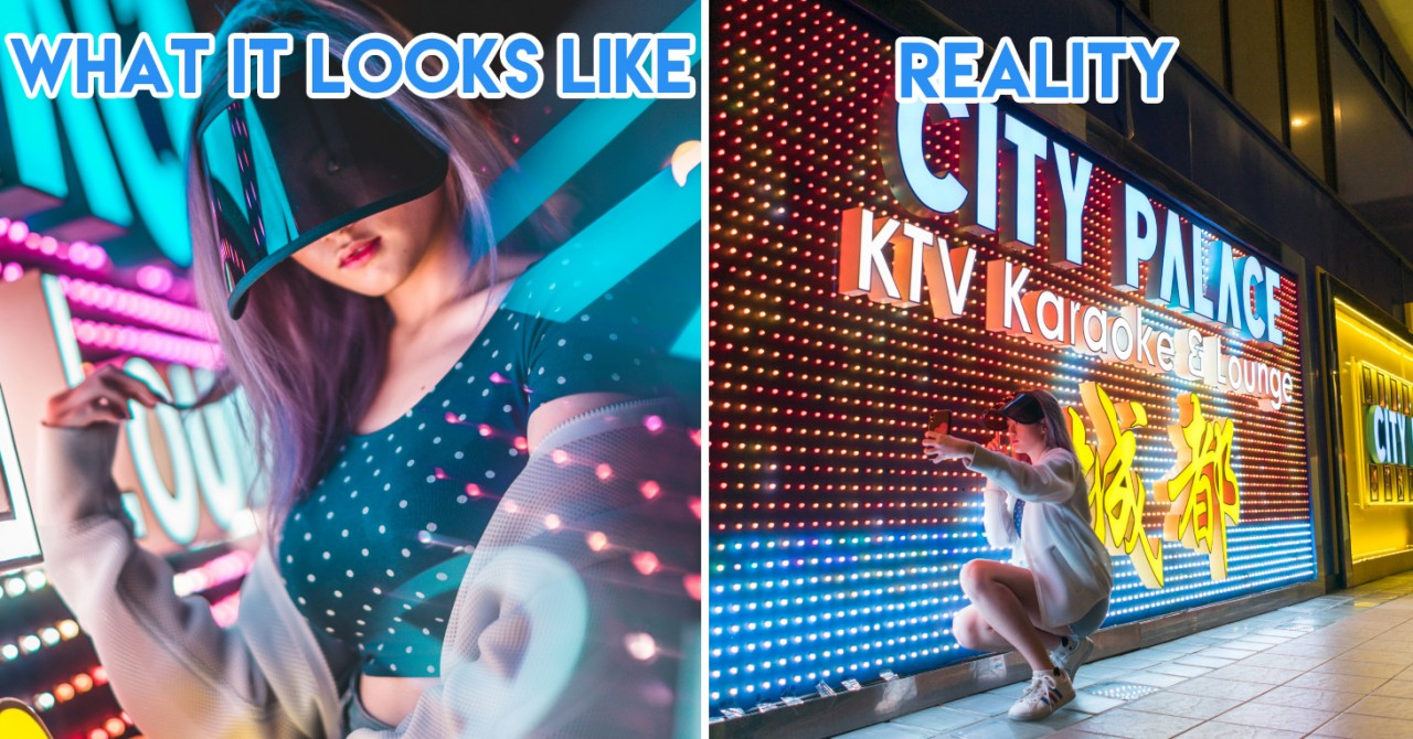 9 Unexpected Places In Singapore For A Pro-Looking Neon Light Portraiture Shoot