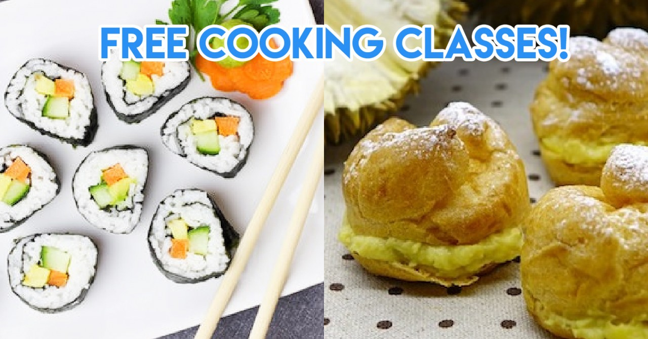 free cooking classes in singapore