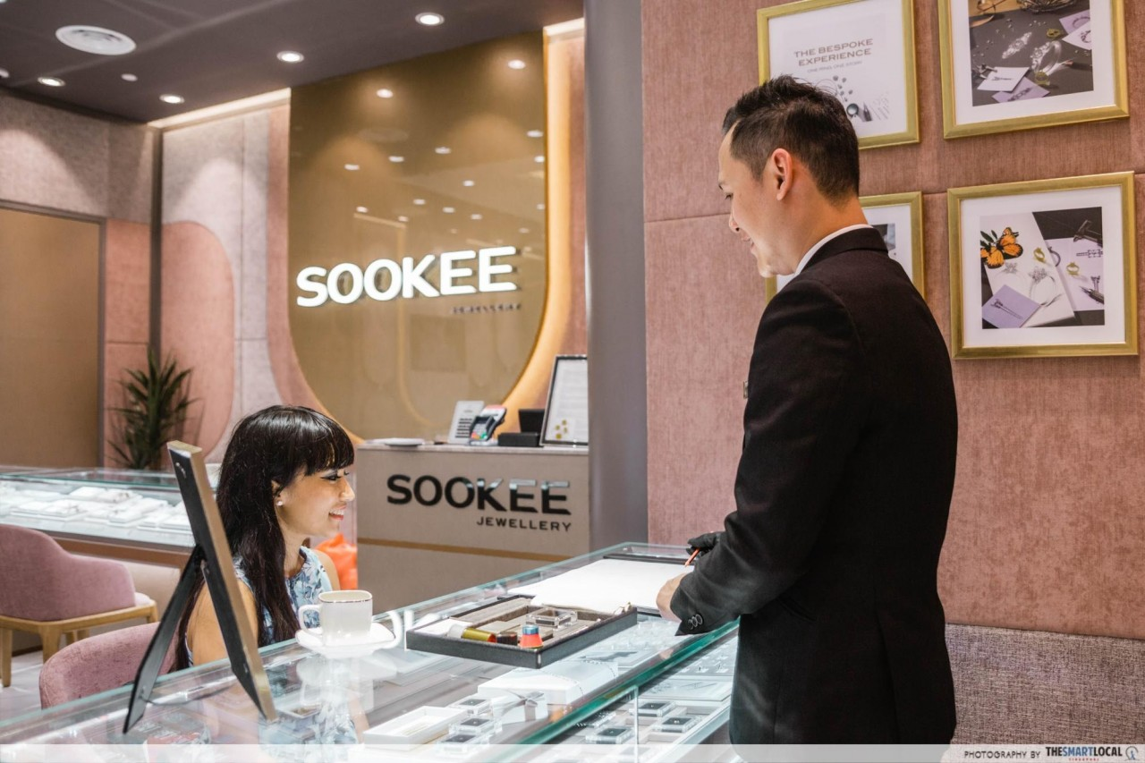 Soo Kee diamond ring consultation service