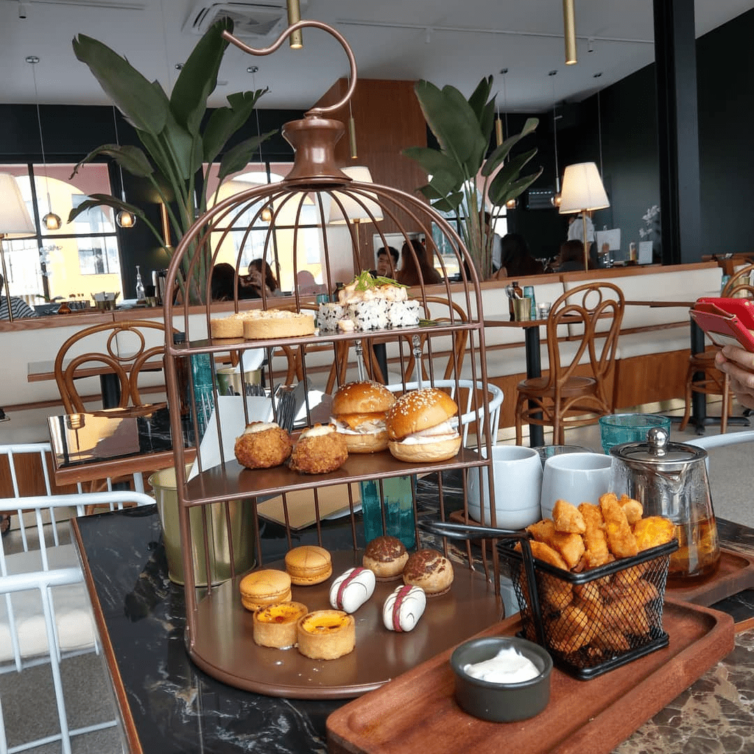 Tropique Cafe and Restaurant - high tea platter